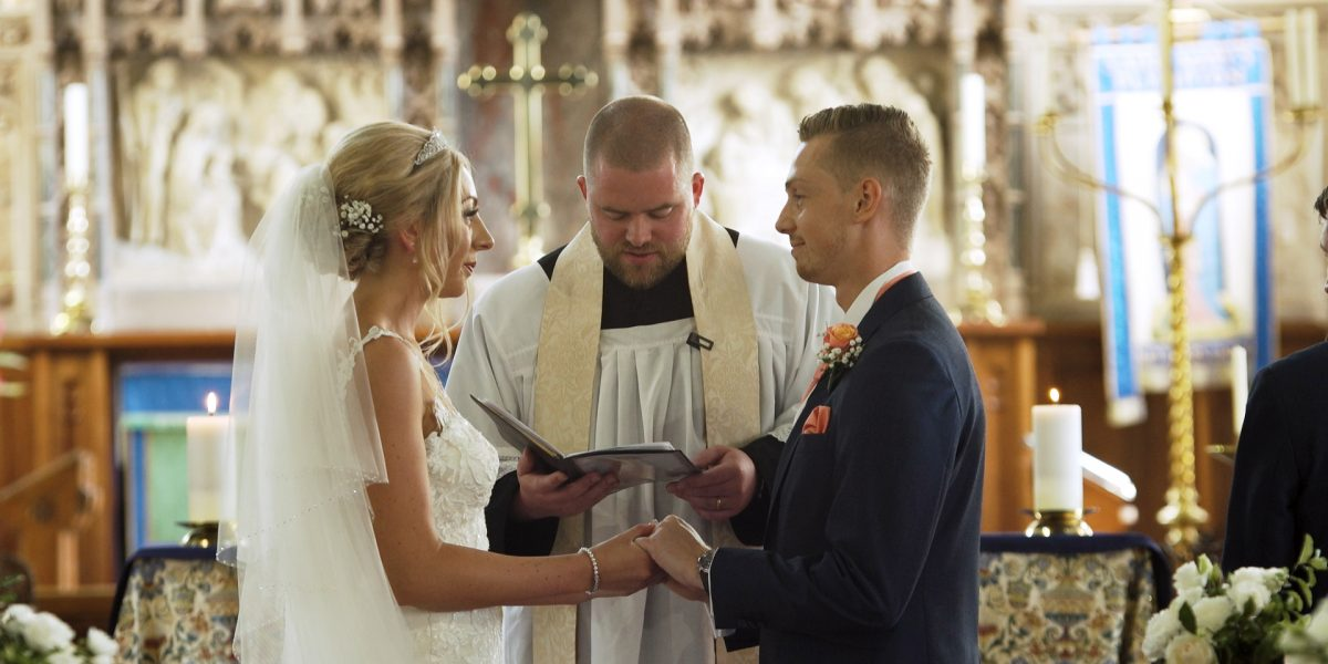 wedding video at shilstone house